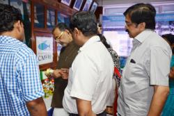 Honourable Union Minister for Agriculture Shri. Radha Mohan Singh visited exhibition of KVK products
