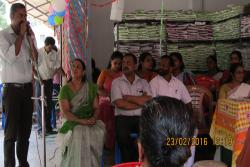 Jeeva Kudumbashree Micro enterprise-an Organic manure manufacturing unit inauguration at Mazhavannur