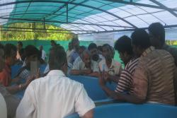 Hands on training on Carp seed production