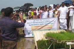 Shri.-Anvar-Sadath-M.L.A-and-others-taking-pledge-on-conserving-paddy-lands
